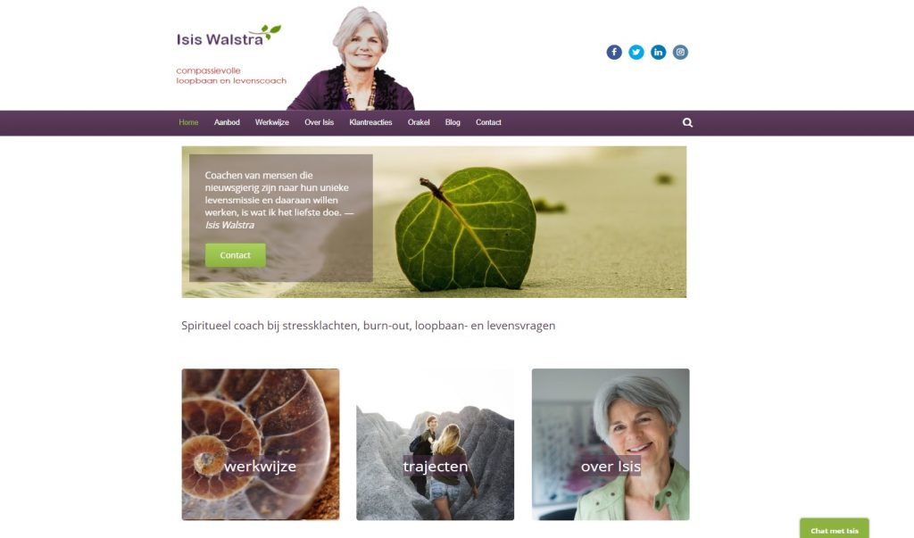 Website Isis Walstra