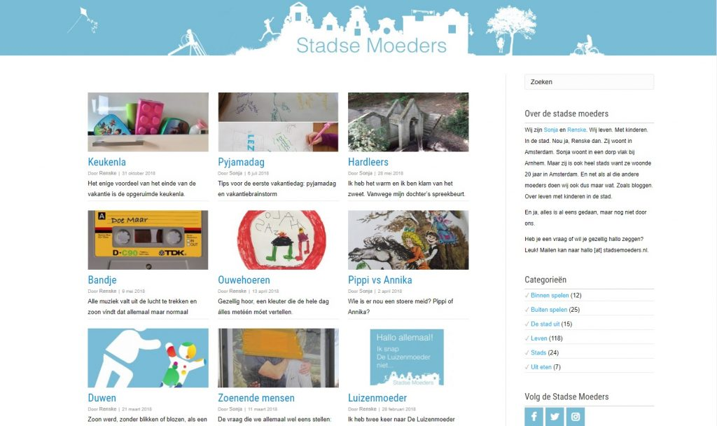 Website Stadse Moeders
